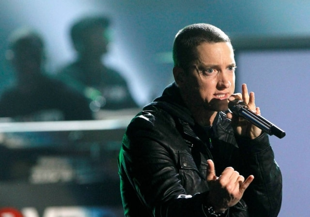O rapper Eminem