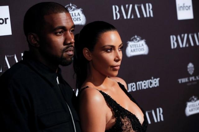 A empresária Kim Kardashian tirou onda com a cara do seu marido, o cantor Kanye West, por conta de uma mensagem no Twitter