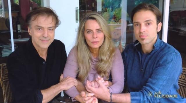 Carlos, Bruna e Kim.