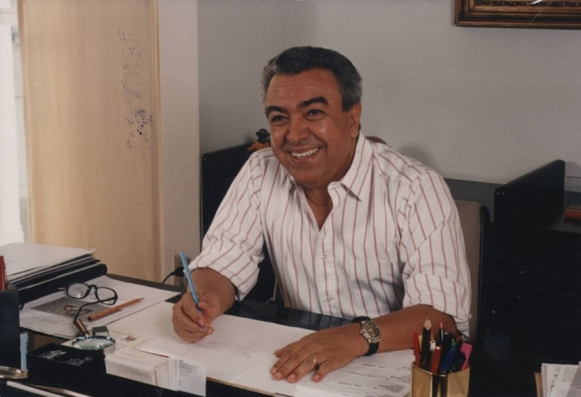 Maurício de Sousaem foto de 1997.