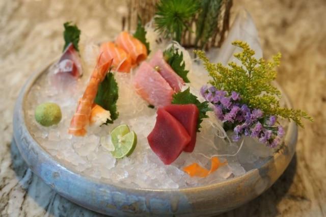 Frio. Sashimi variado