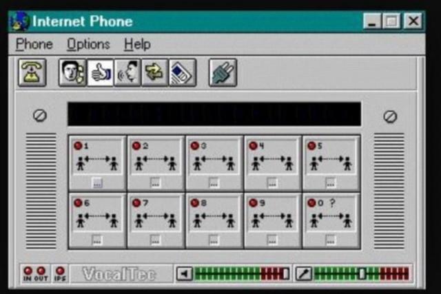 Programa de VoIP da Vocaltec (1995)
