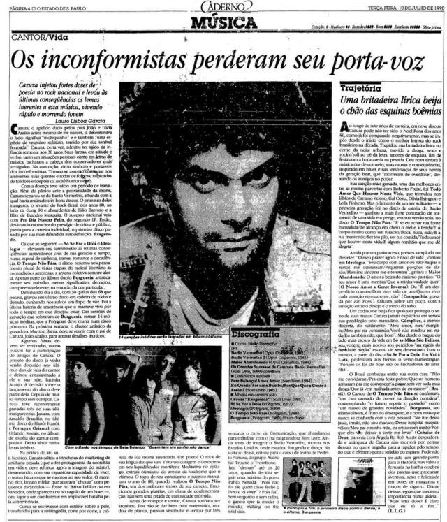 O Estado de S.Paulo - 10/7/1990