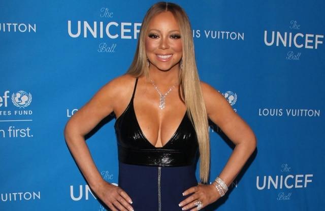A cantora Mariah Carey tenta emagrecer para o casamento