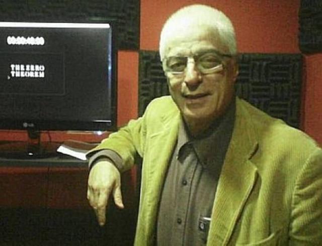 O dublador, ator e diretor José Parisi Júnior.