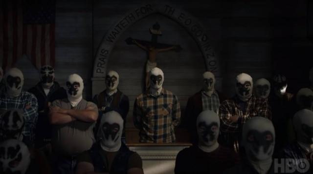 Cena do 1º teaser de'Watchmen' divulgado pela HBO.