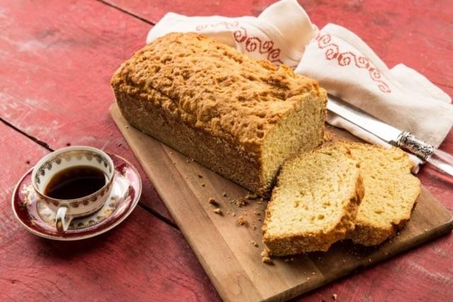 Pão de milho.