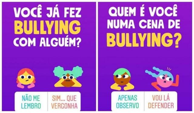 Unicef, SaferNet, Facebook eInstagram se unem em campanha sobra o bullying.