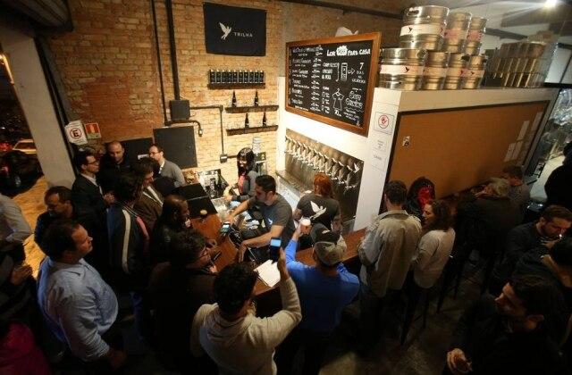 Cervejaria Trilha: não deixe de provar as novidades produzidas na casa.