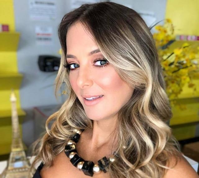 A apresentadora Ticiane Pinheiro.