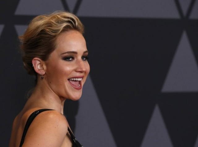 A atriz Jennifer Lawrence
