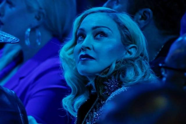 Madonna na cerimônia doGLAAD Media Awards, em Nova York, em maio de2019.