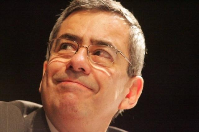 O jornalista da Record TV Paulo Henrique Amorim, que morreu aos 77 anos, no Rio de Janeiro.