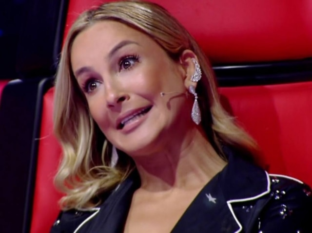 Claudia Leitte no 'The Voice'.