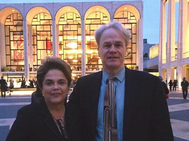James acompanhou Dilma durante duas semanas nos Estados Unidos