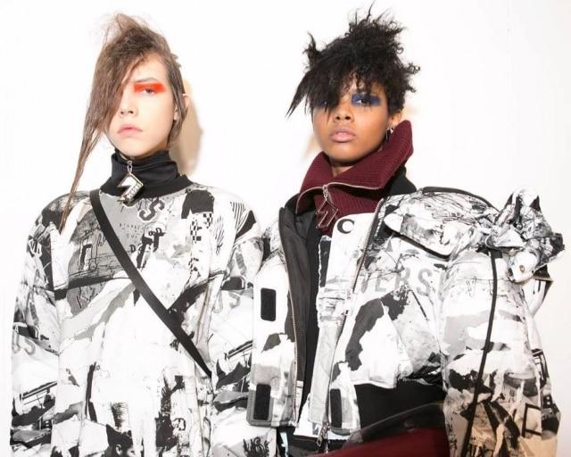 Campanha de inverno 2017 da grife Versus Versace