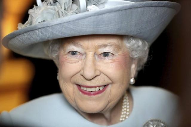 A rainha Elizabeth II.