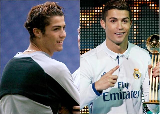 Cristiano Ronaldo é um dos jogadores que mais mudou.