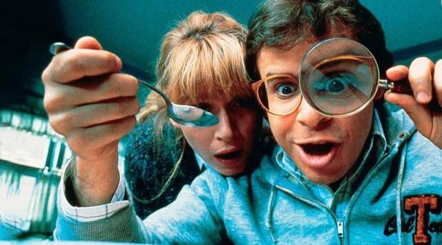 Cena do filme 'Querida, Encolhi as Crianças', de 1989