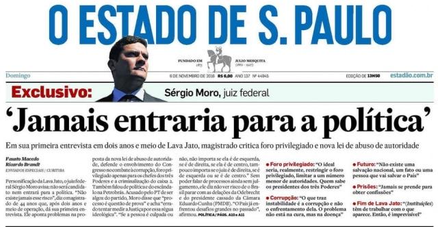 61080abb4ac O Estado de S.Paulo - 06 11 2016