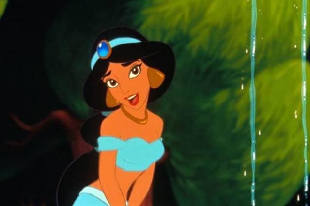 A princesaJasmine, em 'Aladdin'.