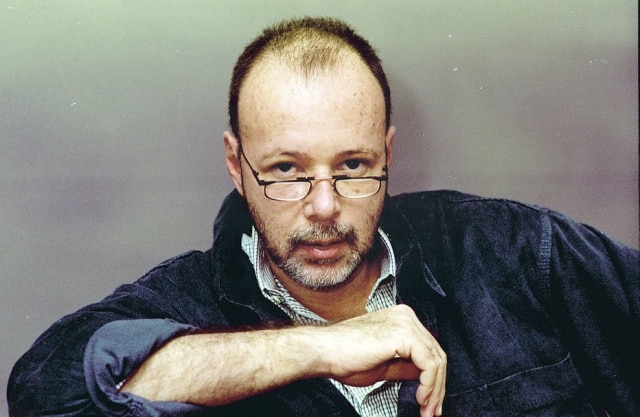 O autor Gilberto Braga em foto de julho de 1994, à época em que era autor da novela 'Pátria Minha'