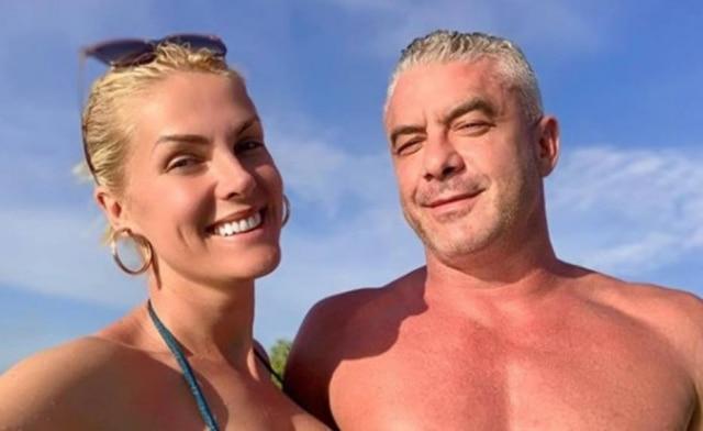 Ana Hickmann e seu marido, Alexandre Correa
