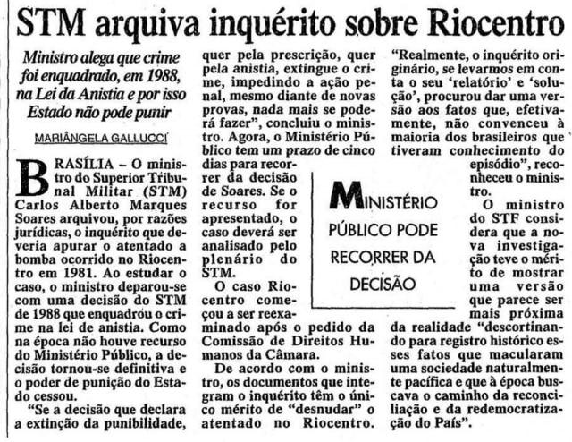 > Estadão - 05/5/2000