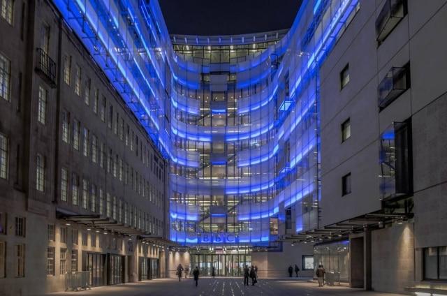 Prédio da BBC Broadcasting House, em Londres