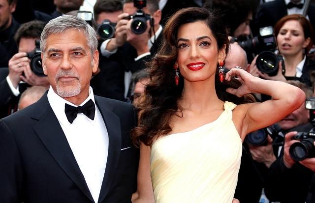Gêmeos de Amal Clooney e George Clooney nasceram no início de junho.