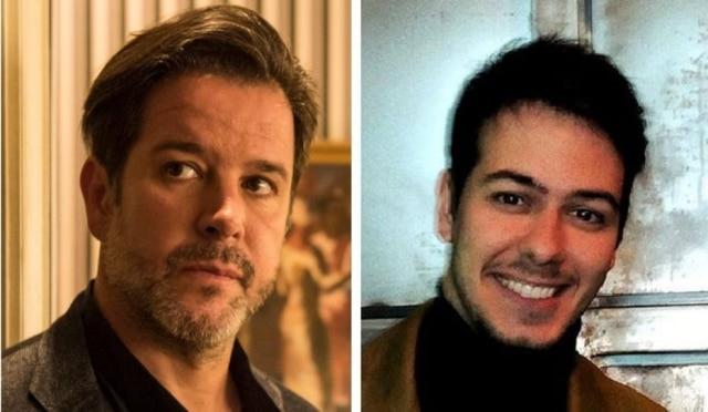 Murilo Benício e seu filho, Antonio Benício, estão no elenco da novela 'Amor de Mãe'.