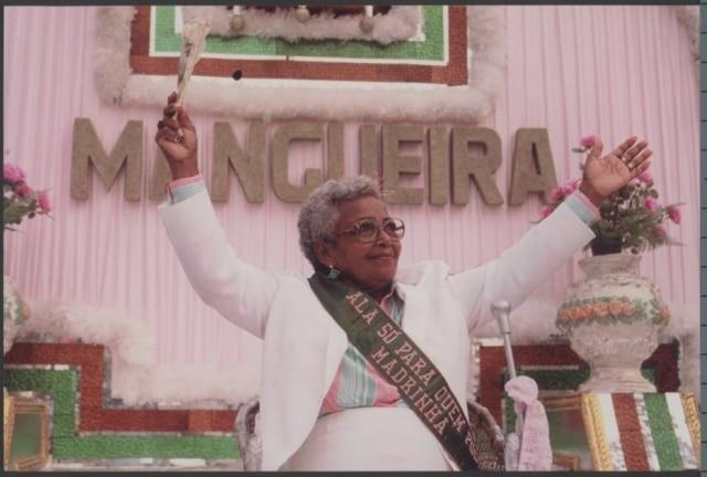 Dona Zica foi uma das primeiras integrantes da escola de samba Estação Primeira de Mangueira.