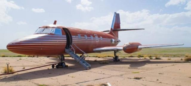 Avião era do cantor e de seu pai, Vernon Presley