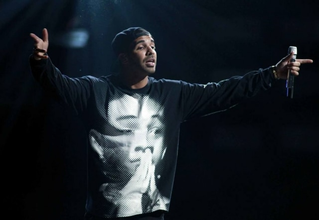 O rapper Drake.