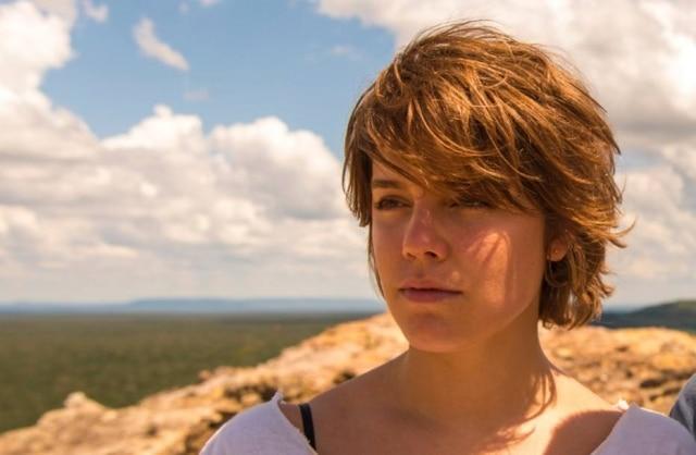 Alice Wegmann em cena de 'Onde Nascem Os Fortes'