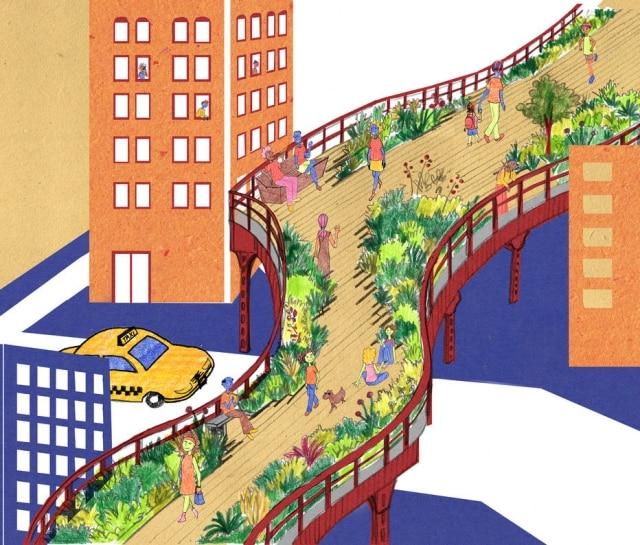 A série Casacadabra, uma iniciativa pioneira no Brasil, tem como objetivo oferecer conteúdos específicos de arquitetura e urbanismo para o público infantil. Idealizado por Bianca Antunes e Simone Sayegh, que trabalham há mais de 15 anos na difusão de arquitetura em mídias especializadas, o segundo livro da série Cidades para Brincar foi ilustrado pela design gráfica e arquiteta Luísa Amoroso. Segundo as autoras, a ideia é levar os pequenos a percorrerem e a descobrirem os segredos de dez espaços públicos pelo mundo, como a escadaria Trinitá dei Monti, em Roma, e a avenida Paulista, em São Paulo, por meio de atividades lúdicas que ao longo das páginas auxiliam no processo de aprendizagem. Na foto, ilustração da High Line, em Nova York.Da Pistache Editorial, por R$ 80. À venda no site da editora: www.pistacheeditorial.com.br.
