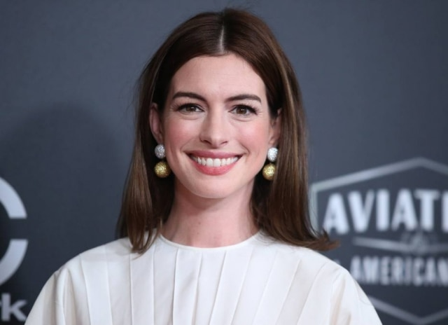Anne Hathaway no Hollywood Film Awards em novembro de 2018, na Califórnia
