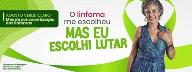 Associação Brasileira de Linfoma e Leucemia aproveita o 'Agosto Verde Claro' para alertar população