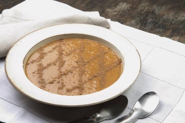 Arroz-doce caramelado