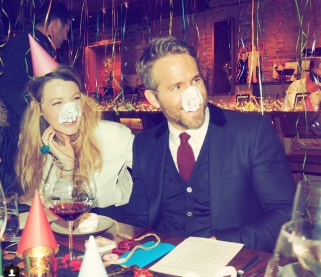Blake Lively e Ryan Reynolds.