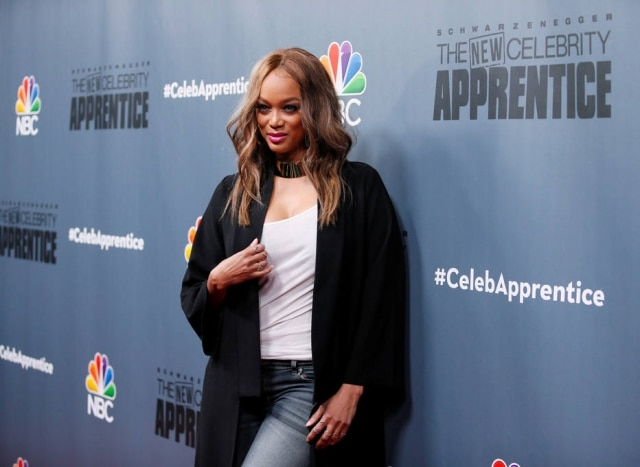 Tyra Banks, apresentadora do 'America's Next Top Model'.
