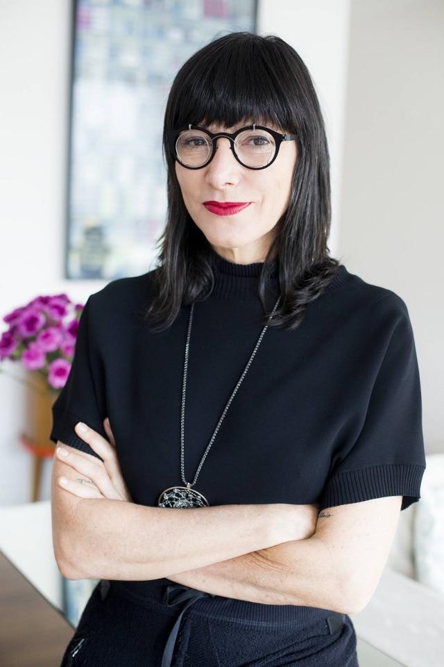 A empresária Andrea Bisker.