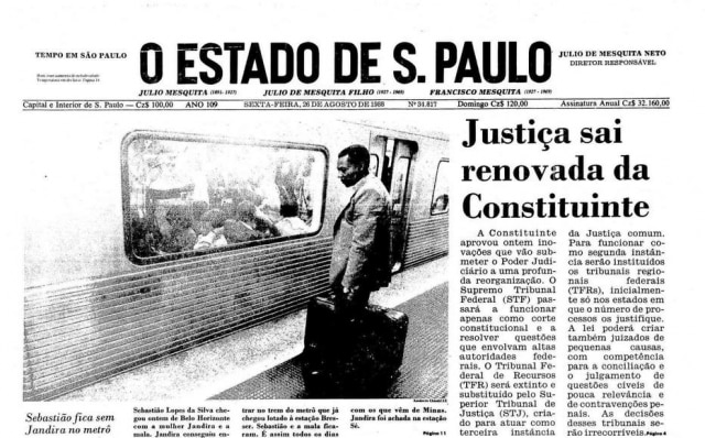 Jornal de26 de agosto de 1988