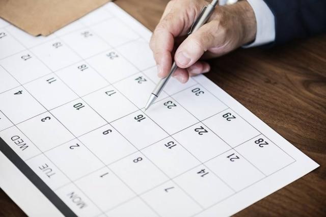 O ano de 2020 terá nove feriados nacionais que cairão durante a semana.