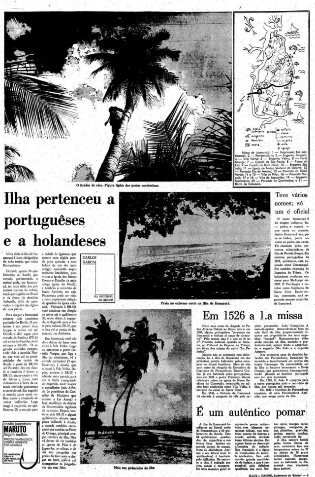 Reportagem de Carlos Garcia,13/3/1970