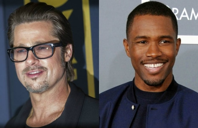 Brad Pitt e Frank Ocean são bons amigos - e agora o ator até participou de um show do cantor.