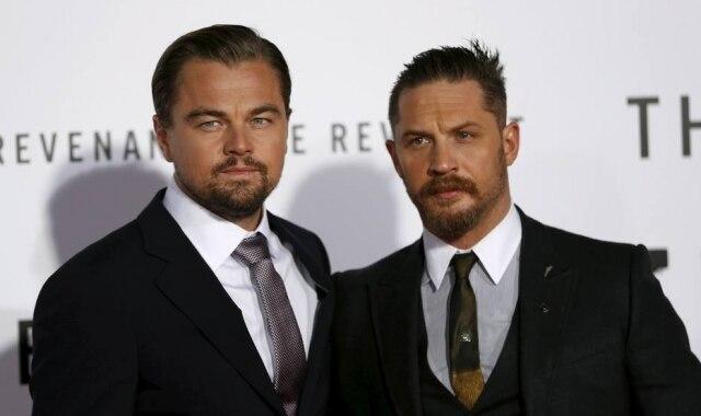 O ator Tom Hardy revelou a tatuagem que fez em homenagem a Leonardo DiCaprio após perder aposta com ele