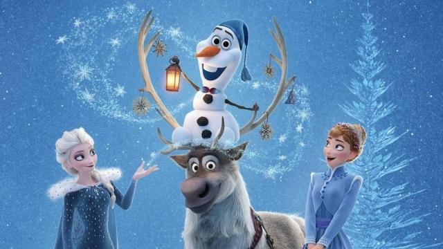 O personagemOlaf, do filme'Frozen'.
