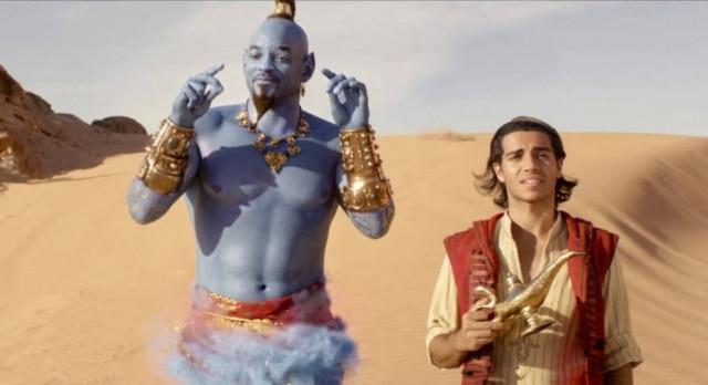 Cena do filme 'Aladdin', de 2019
