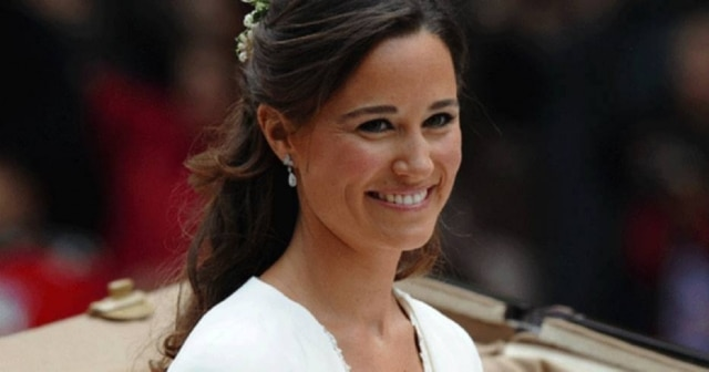 Pippa Middleton, irmã mais nova da duquesa de Cambridge Kate Middleton, chamou atenção no casamento real